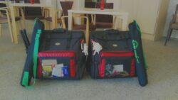 In diesen beiden Koffern...
